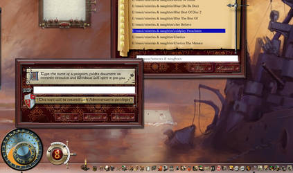 XP/Win 7 run dialog themed for Mediaeval Total War by yereverluvinuncleber