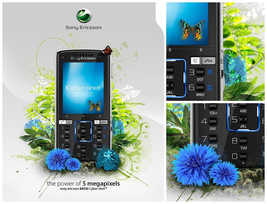 Sony Ericsson K850i. by Uribaani