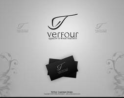 Verfour -Logotype design. by Uribaani