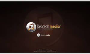 Reotech Media -Logotype design by Uribaani