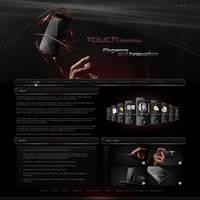 Touch diamond -Website design. by Uribaani