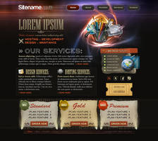 Agency, hosting -site template by Uribaani