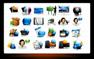 web icon collection by webdesigner1921