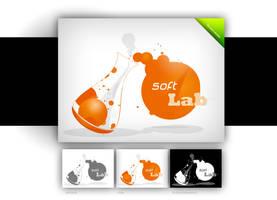 soft lab logo by webdesigner1921