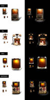 retro icon collection by webdesigner1921