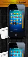 iphone 4 app - shoping list by webdesigner1921