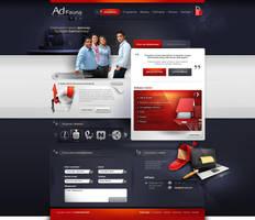 adFauna - webdesign project by webdesigner1921