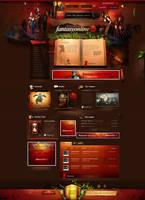 Fantasyonline - webdesign by webdesigner1921