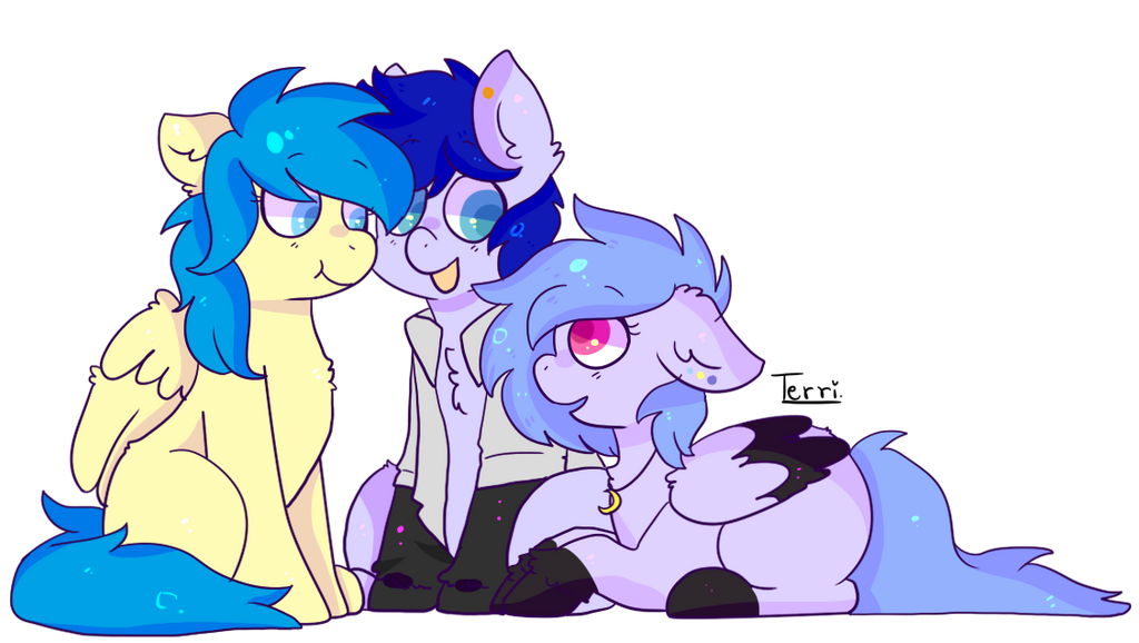 Crystal, Tanzanite and Moonstone -- r-ip by Spitfire-SOS