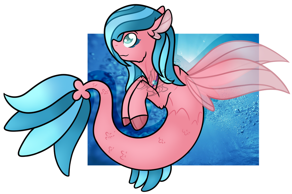 .:Commission:. Cressida (Seapony) by Spitfire-SOS