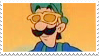 Dj Luigi stamp by NeoCallie
