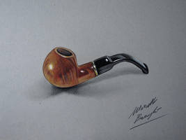 Drawing and coloring a Pipe by Marcello Barenghi by marcellobarenghi