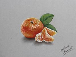Mandarin orange by marcellobarenghi