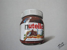 Nutella DRAWING by Marcello Barenghi by marcellobarenghi