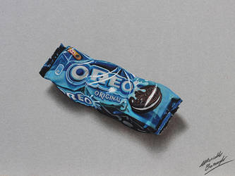 Oreo cookies DRAWING by Marcello Barenghi by marcellobarenghi