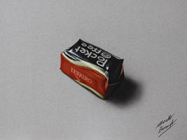 Pocket Coffee DRAWING by Marcello Barenghi by marcellobarenghi