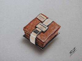 Le Baulois Marylou, fondant au chocolat DRAWING by marcellobarenghi