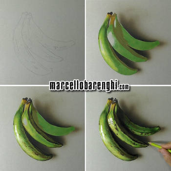 Cooking Bananas - Step by Step by marcellobarenghi