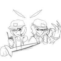 wow i cant draw swords by EvaEevee