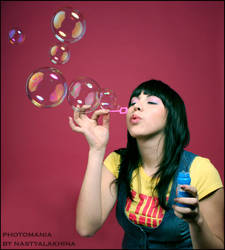 bubbles by nastyalakhina