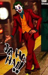 Joker Joaquin Phoenix  fanart by animeclaro