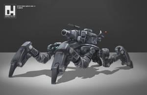 Stryder Mech MK. II by 152mm