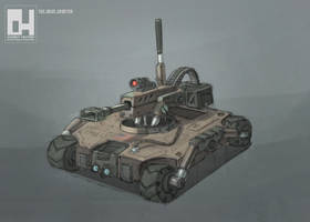 Robot by 152mm