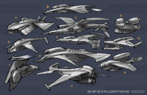 Ship Explorations by 152mm