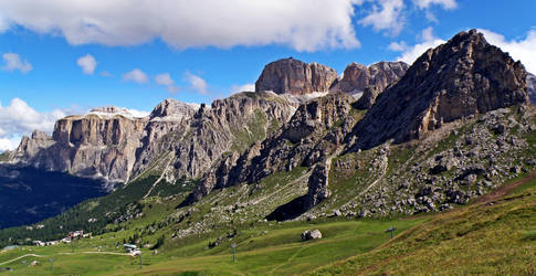 View of the Sella by Sergiba