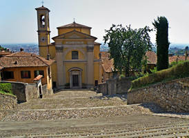Church of Santa Grata Inter Vites by Sergiba