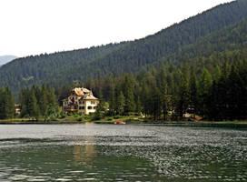 Hotel of lake by Sergiba
