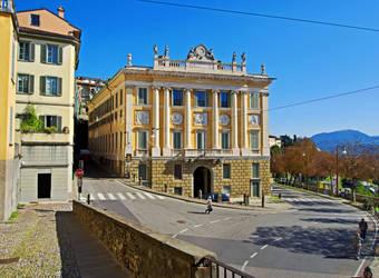 Palace Medolago Albani by Sergiba