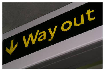 Way Out by photocell