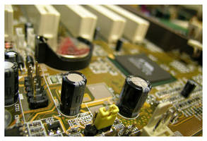 Motherboard by photocell