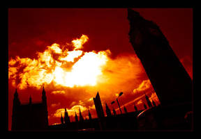 London Burning by photocell
