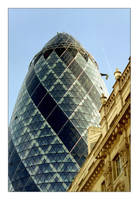 The Gherkin by photocell