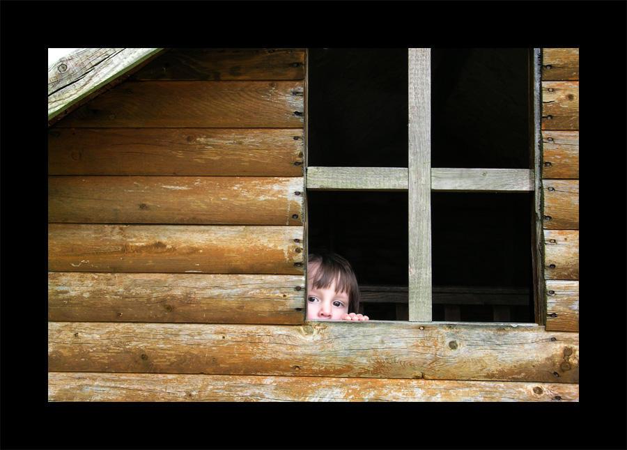 peek-a-boo by photocell