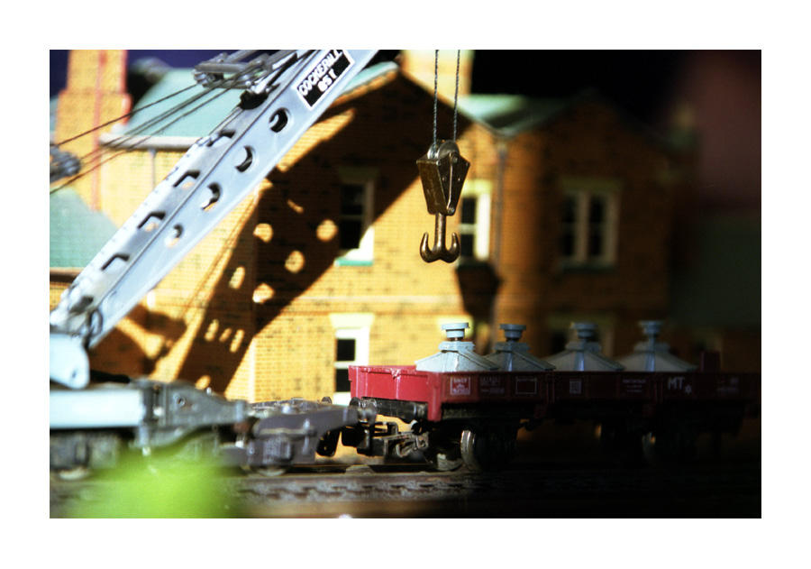 Railway by photocell