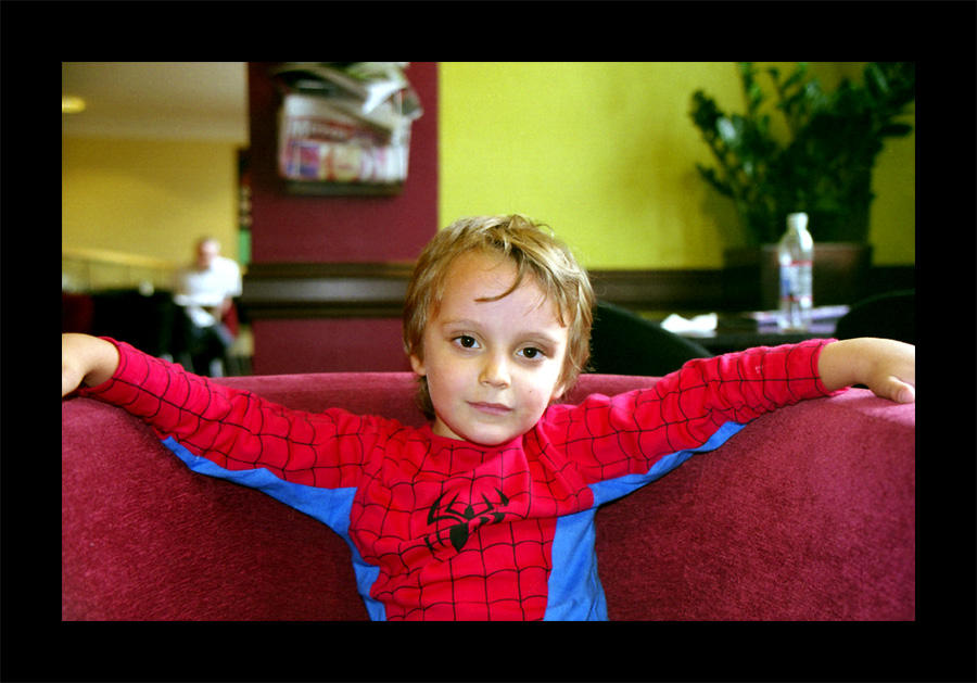 Spiderboy by photocell