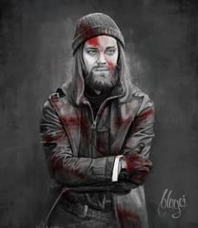Paul 'Jesus' Rovia fanart by bbluyei