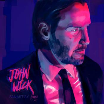 John Wick fanart by bbluyei
