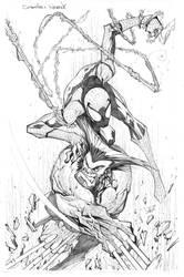 Spider Wolverine by Sandoval-Art