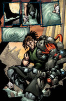 Bionic Commando page 01 by Sandoval-Art