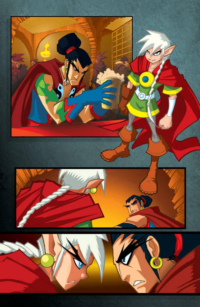 Legions Page 1 by Sandoval-Art