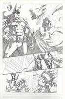 Batman VS Bane 1 by Sandoval-Art