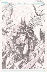 BATMAN original art! by Sandoval-Art
