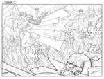 Justice League - DC comics Universe! by Sandoval-Art