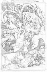 Avengers Assemble Issue 09 Page 16 by Sandoval-Art