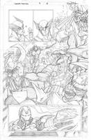 Avengers Assemble Issue 09 Page 18 by Sandoval-Art