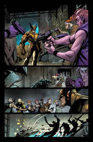 Wolverine 5 - Page 02 - color by Sandoval-Art